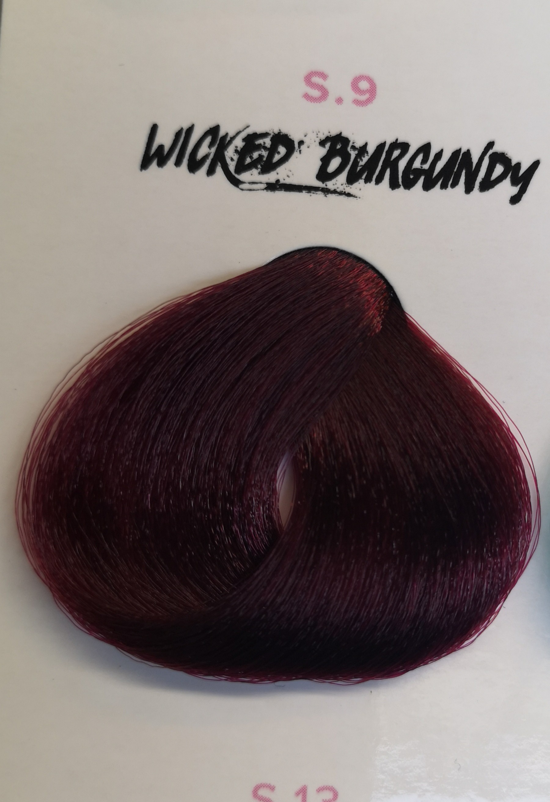wicked burgundy