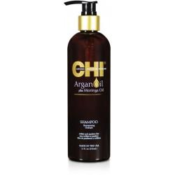 CHI Argan Oil Šampūnas su argano ir moringų aliejumi 355ml