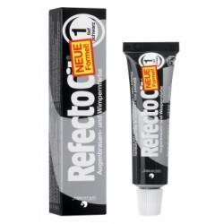 Blakstienų ir antakių dažai RefectoCil juodi