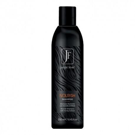 Nourish šampūnas, sausiems ir pažeistiems plaukams su medaus ekstraktu